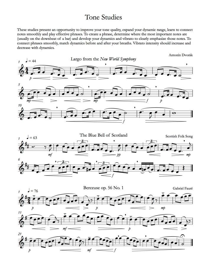 Bass Flute Method 3-1