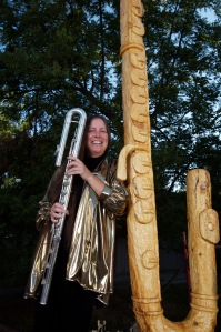 Chris Potter Flute Carving